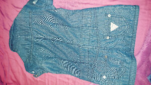SIZE 3&3T GUESS & OSHKOSH JEAN DRESSES WITH TAGS