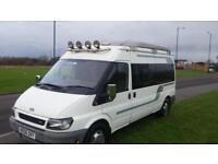 (39) FORD TRANSIT MOTOR HOME, 4 BERTH, 2006YR
