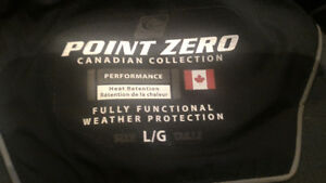 Point Zero youth Large black Winter Jacket