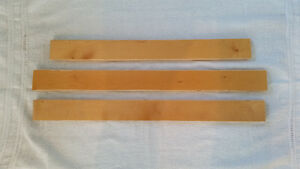 Plancher de bois franc en érable