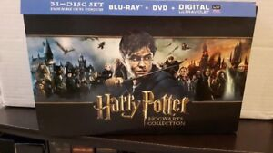 Digital HD Codes - Harry Potter The Hogwarts Collection complete