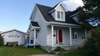 3+1 Bdrm House w 3 Baths and Garage in Great Location in Timmins