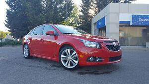 2012 Chevrolet Cruze LT Turbo RS Sedan With New Winter Tires!