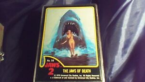Desert Storm, Jaws 2 and Jaws 3D Trading Cards Complete Sets Stratford Kitchener Area image 7