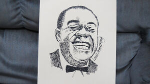 Louis Armstrong print