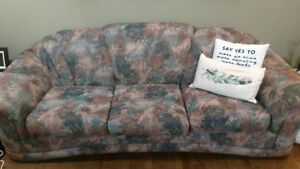 Couch and Loveseat for sale - $500 obo.
