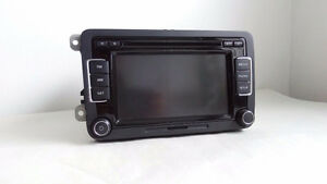 VW Volkswagen 6 Disc Changer CD Player Touch Screen RCD-510
