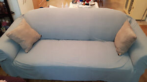 BEAUTIFUL MICROFIBER COUCH