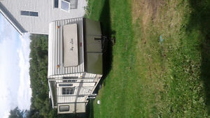 30ft camper great for hunt camp