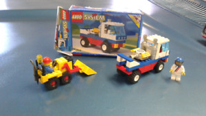 Lego !  Loader 6630, Race Truck 1991, Stingray Explorer 6442