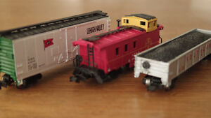 Wagons échelle N Scale rolling stock