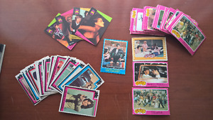 Grease, Charlie's Angels, Happy Days trading cards