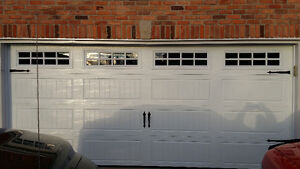 Carriage house 16ft x 7ft garage door