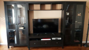 Ikea Hemnes entertainment wall unit