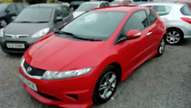 2011 Honda Civic Type S 3 Door Red Mot 25/12/21 Very nice car