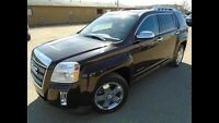 2012 GMC Terrain AWD V6 SLT-2 Leather, sunroof, loaded low kms