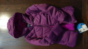Columbia purple winter jacket - brand new with tag