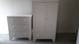 Oxford 5 piece baby nursery furniture set