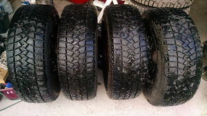 Goodyear Ultra Grip LT Snow Tires on Factory GM rims