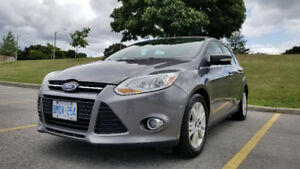 2012 Ford Focus + Winter Tires