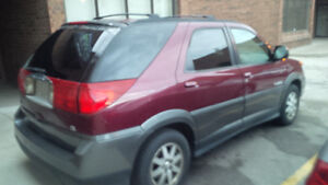 2003 Buick Rendezvous Silver Chrome SUV, Crossover