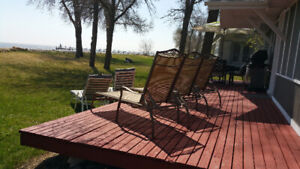 Cabin Cottage Lakefront Waterfront Rent Rental Winnipeg Beach MB