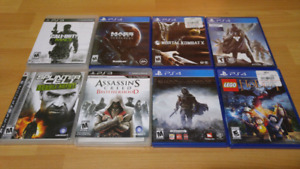 Ps4 games (and a few ps3)