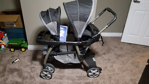 Graco Ready2Grow Double Stroller EUC