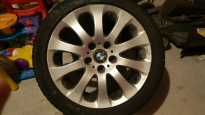 """17"""" bmw e90 wheels and tires"""