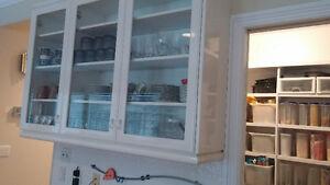 white kitchen craft cabinets