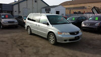 Honda Odyssey EX *FRESH SASK. SAFETY, GREAT CONDITION*