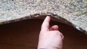 9 ft x 12 ft Rug Pad - Foam - 1/2 inch thick - $50