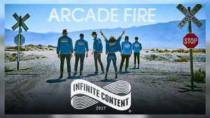 2 GA Tickets to see Arcade Fire in Montreal September 6th 2017
