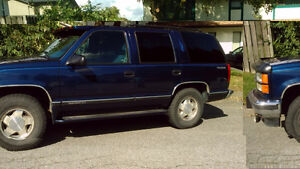 1997 GMC Yukon SLE SUV - Low miles, great shape