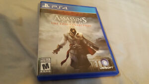 Assassin's Creed The Ezio Collection PS4 Games