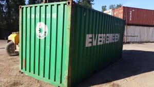 20' Cargo Worthy Steel Shipping Containers In Stock