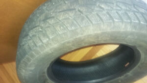 4 Winter tires 245/65R17 (one winter only)