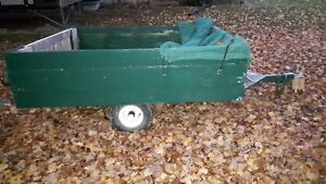 Easy to haul cargo trailer in good condition Kitchener / Waterloo Kitchener Area image 3