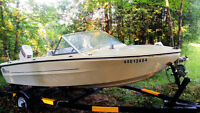 15ft Doral Motor Boat, 70 HP with Trailer