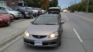 2005 Acura RSX Premium Coupe (2 door) 139K ONLY  CALL 6473522058