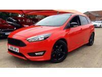 2016 Ford Focus 1.5 EcoBoost 182 Zetec S Red 5 Manual Petrol Hatchback