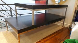 Ikea Klubbo Ultra Modern Low Coffee Table