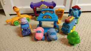 Set of Baby Wheels Toys