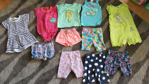 Great girl summer clothes 12-18 month