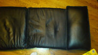 Poang Leather cushions