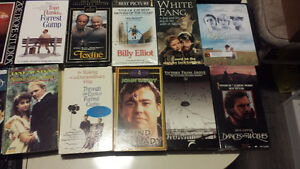 Documentaries and Drama VHS/DVD Collection