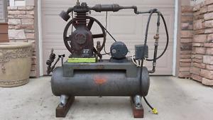 Devil Biss air compressor