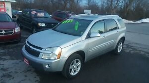 CHEVROLET EQUINOX LT *** LEATHER / SUNROOF *** LOW KM $6995