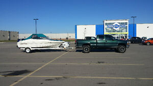 17ft campion535 Bowrider and trailer