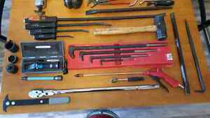 Snap on, blue point, and matco tools.